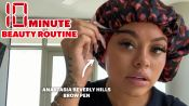 Mulatto's 10 Minute Beauty Routine For a Studio Session Look