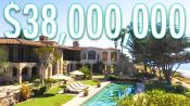 Inside a $38M Oceanside Mansion With A Private Beach