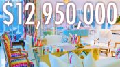 Inside A Multicolor $13M Maximalist Mansion