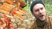 Brad Makes Campfire Seafood