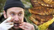 Brad Makes Campfire Ribs