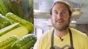 Brad Makes Crunchy, Half-Sour Pickles