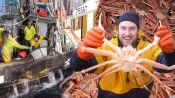 Brad Goes Crabbing In Alaska