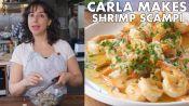 Carla Makes Shrimp Scampi