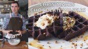 Chris Makes Chocolate Waffles