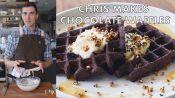 Chris Makes Chocolate Waffles