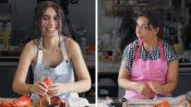 Alessia Cara Tries to Keep Up with a Professional Chef