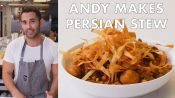 Andy Makes Khoresh Gheymeh (Persian Stew)