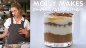 Molly Makes Dark Chocolate Chia Parfait