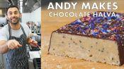 Andy Makes Salted Chocolate Halva