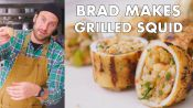 Brad Makes Grilled Stuffed Squid