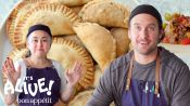 Brad and Gaby Make Beef Empanadas