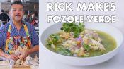 Rick makes Pozole Verde (Mexican Stew)