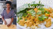 Hawa Makes Digaag Qumbe (Somali Stew)