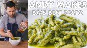 Andy Makes BA's Best Pesto