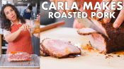 Carla Makes Roasted Pork