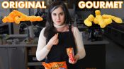 Pastry Chef Attempts To Make Gourmet Cheetos | Bon Appetit