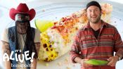 Brad and Orville Peck Make Elote (Mexican Street Corn)