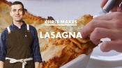 Chris Makes BA's Best Lasagna