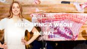 Pro Chef Tries Butchering a Whole Pig for the First Time