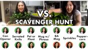 Pro Chefs Go on a Scavenger Hunt at Home (One-on-One)