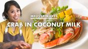 Melissa Makes Crab in Coconut Milk (Ginataang Alimasag)