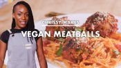 Chrissy Makes Vegan Meatballs