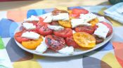 3-Ingredient Grilled Watermelon, Feta, and Tomato Salad