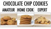 4 Levels of Chocolate Chip Cookies: Amateur to Food Scientist