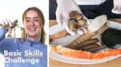 50 People Guess Shellfish Types