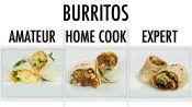 4 Levels Of Burritos: Amateur to Food Scientist