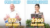 $260 vs $17 Pork Chop Dinner: Pro Chef & Home Cook Swap Ingredients