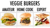 4 Levels of Veggie Burgers: Amateur to Food Scientist