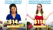 $118 vs $14 Brownies: Pro Chef & Home Cook Swap Ingredients