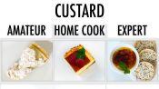 4 Levels of Custard: Amateur to Food Scientist