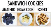 4 Levels of Sandwich Cookies: Amateur to Food Scientist