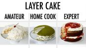 4 Levels of Layer Cake: Amateur to Food Scientist