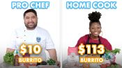 $113 vs $10 Burrito: Pro Chef & Home Cook Swap Ingredients