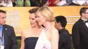 SAG Awards Red Carpet: Celebs Talk Fashion, Burgers and Famous Co-Stars