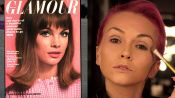How to Recreate Supermodel Jean Shrimpton's 1964 Glamour Pastel Eye Shadow