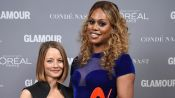 Laverne Cox and Jodie Foster Discuss Gay and Transgender Rights