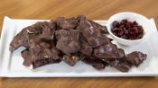 Try This Chocolate Indulgence: Chocolate Cherry Bark