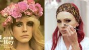 Lana Del Rey's Plump Lips and Dreamy '70s Makeup, Recreated by Kandee Johnson