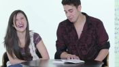 Guys Read Their Girlfriends' Old Grade School Diaries: Maria & Matt