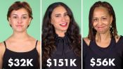 Women of Different Salaries on How They Waste Their Money