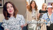 "Rose Byrne将她的标志性服装从""伴娘""到""身体""进行了分解"
