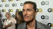 The GQ Men of the Year Party: Matthew McConaughey on Raising His Sons