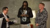 Diplo & 2 Chainz Find Out WTF a Water Sommelier Does