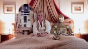 How Amy Schumer Got Into Bed with Star Wars