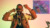Juicy J's Jewelry Collection Is Worthy of an Oscar-Winner